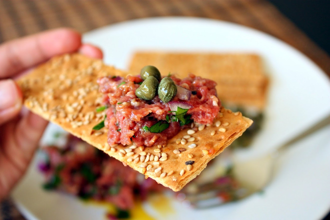 Steak Tartare.